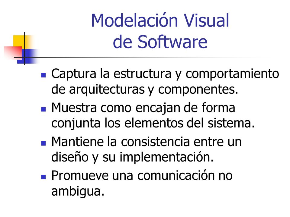 Modelación Visual de Software