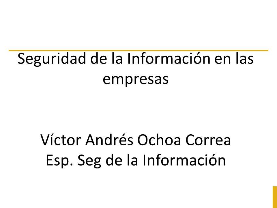 Seguridad de la Información en las empresas