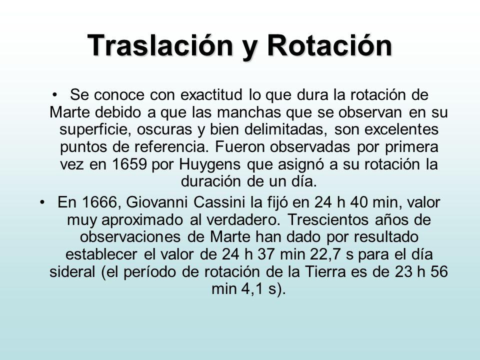 Traslación y Rotación