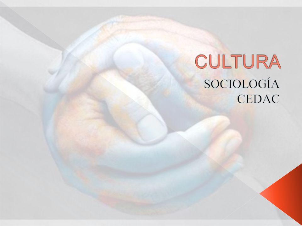 CULTURA SOCIOLOGÍA CEDAC