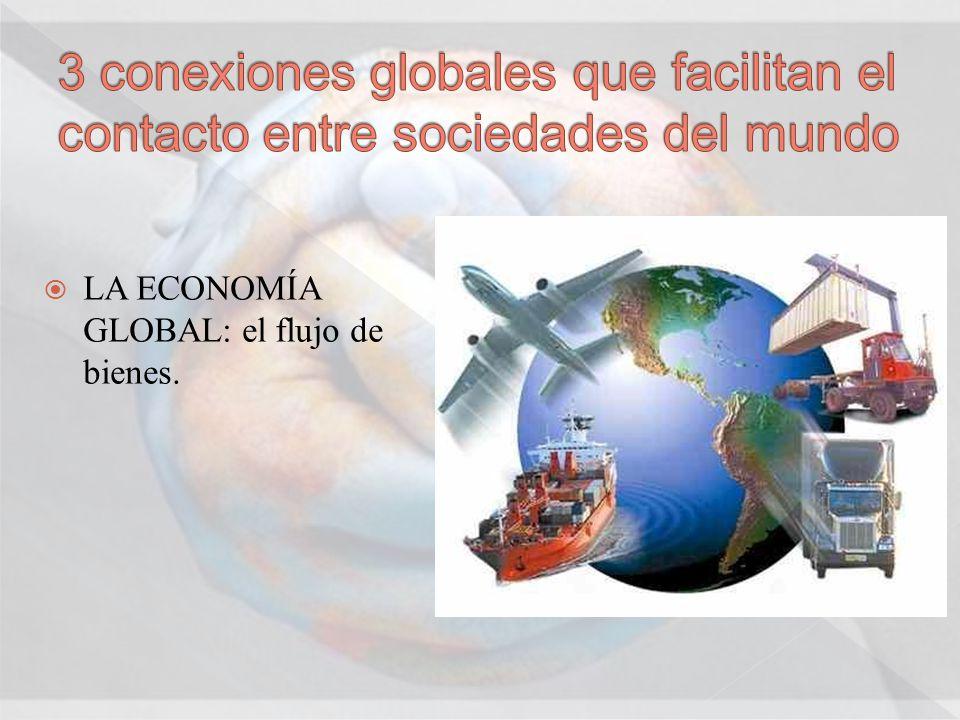 3 conexiones globales que facilitan el contacto entre sociedades del mundo