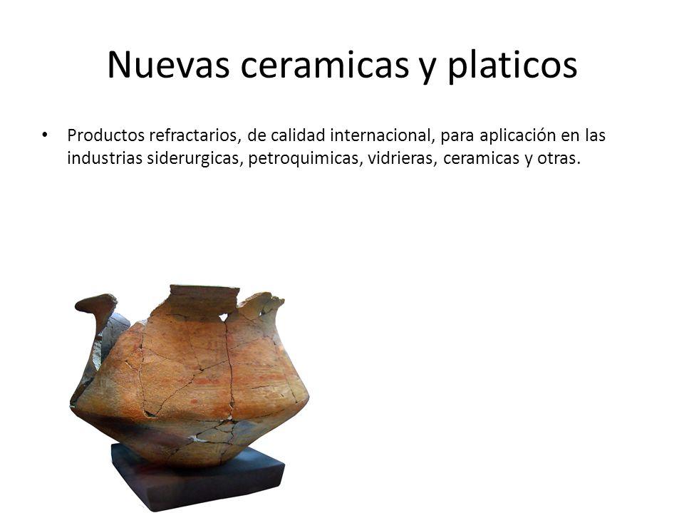 Nuevas ceramicas y platicos