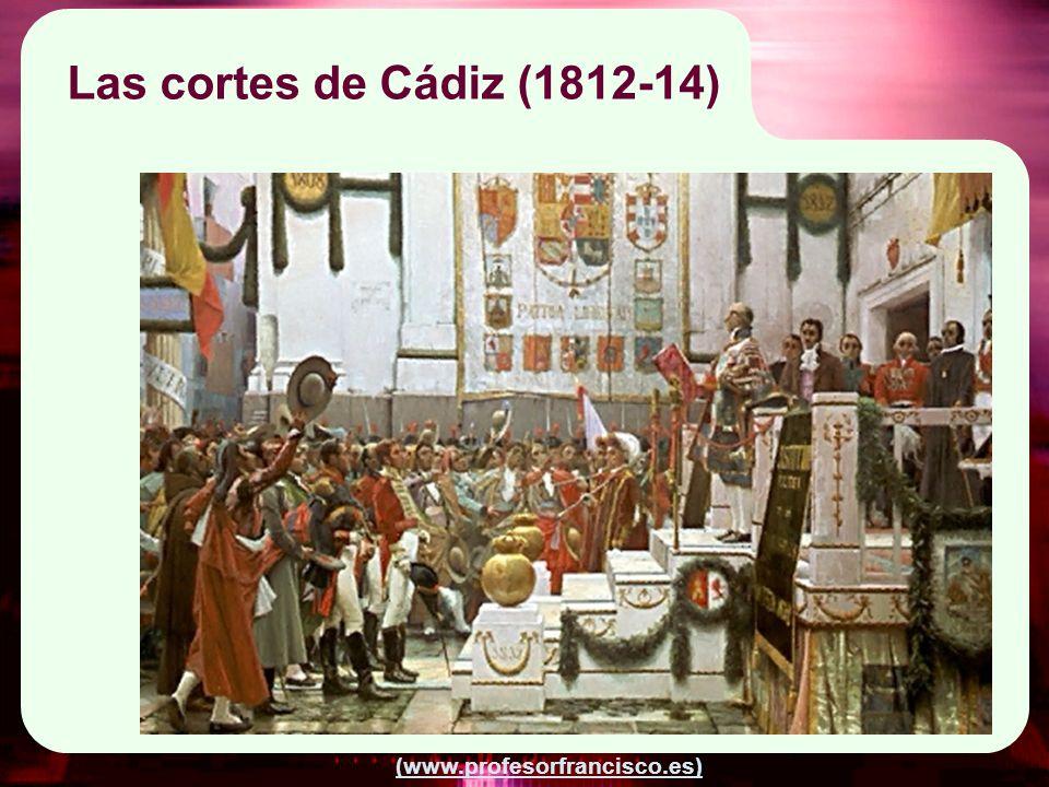 Las cortes de Cádiz (1812-14)