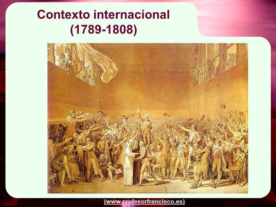 Contexto internacional (1789-1808)