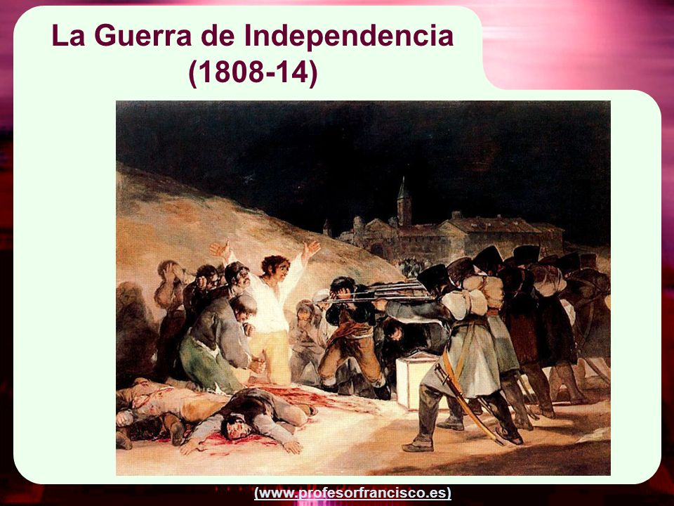 La Guerra de Independencia (1808-14)
