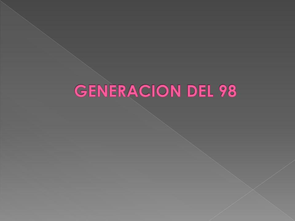 GENERACION DEL 98 27