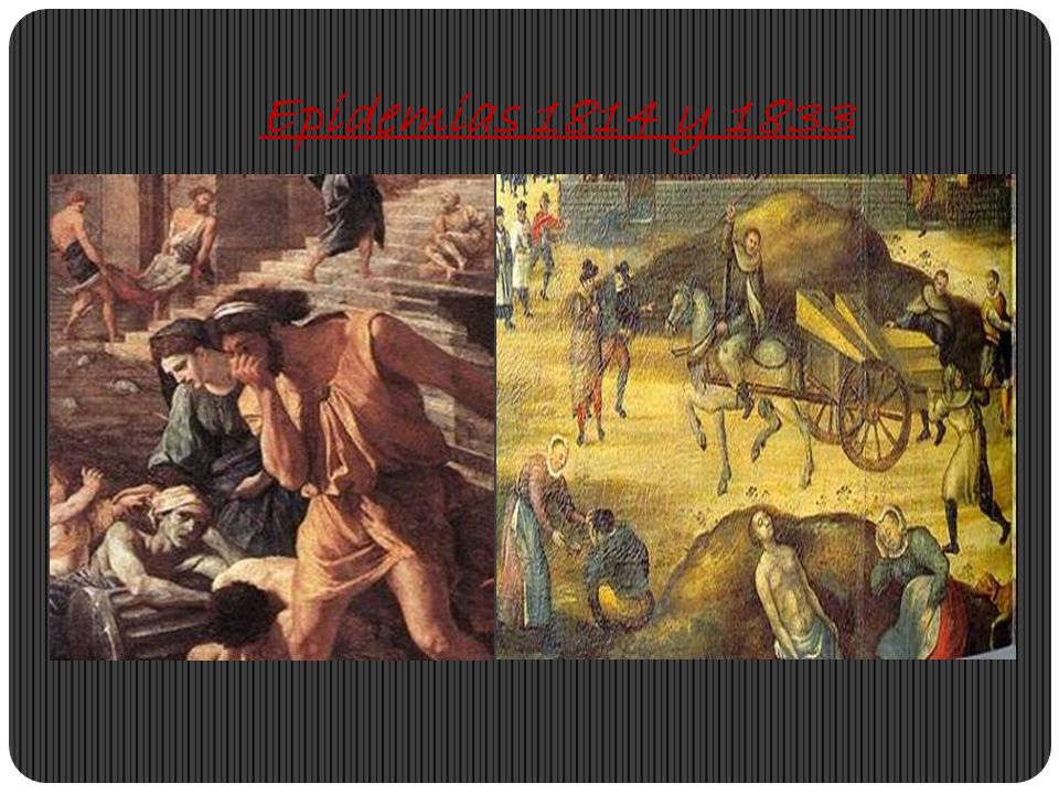 Epidemias 1814 y 1833