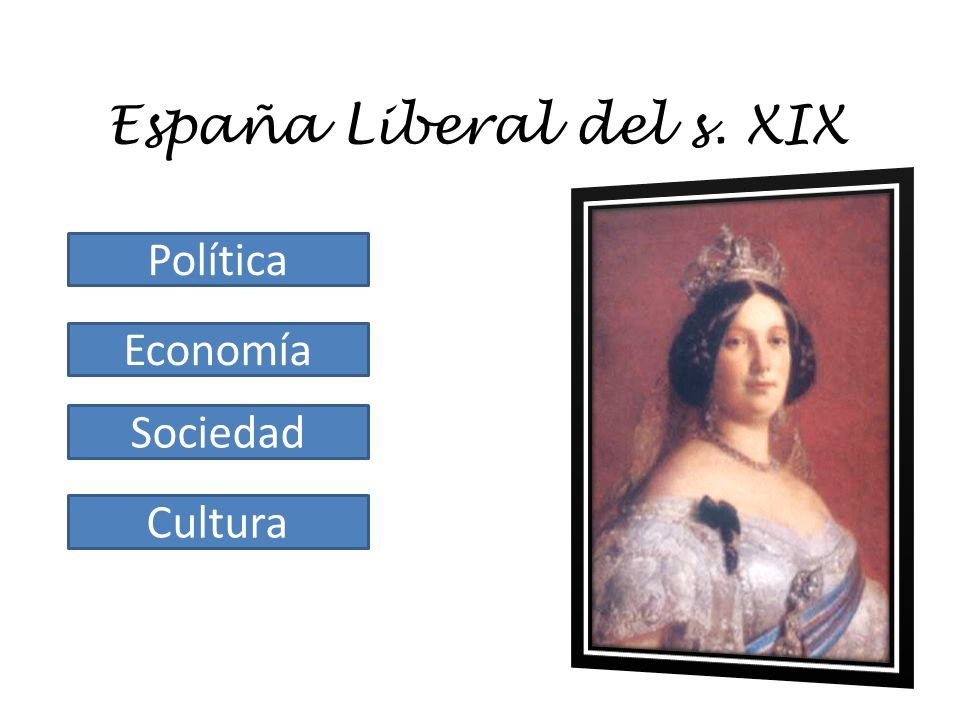 España Liberal del s. XIX