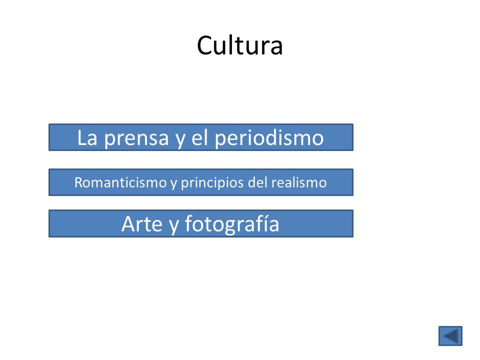 Cultura La prensa y el periodismo Arte y fotografía