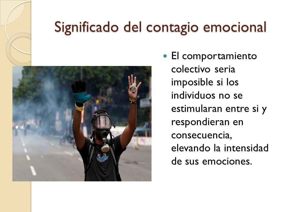 Significado del contagio emocional