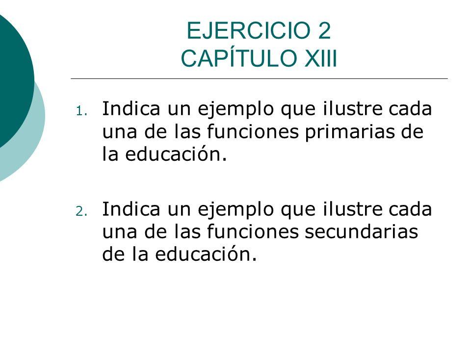 EJERCICIO 2 CAPÍTULO XIII