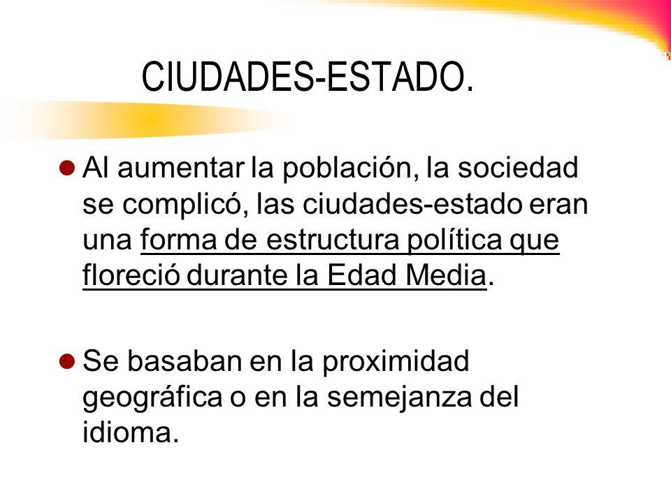 CIUDADES-ESTADO.