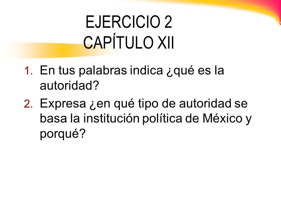 EJERCICIO 2 CAPÍTULO XII