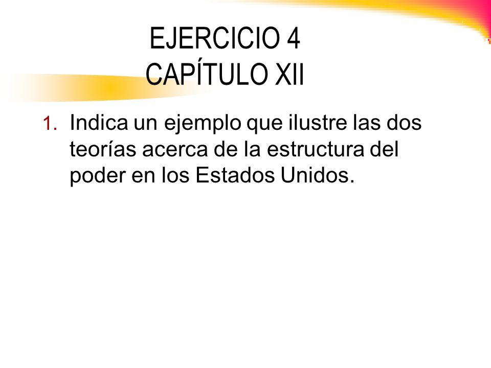 EJERCICIO 4 CAPÍTULO XII