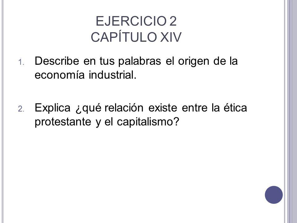 EJERCICIO 2 CAPÍTULO XIV