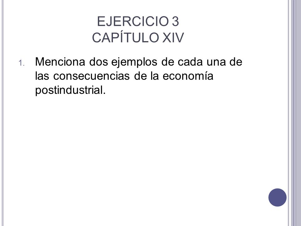 EJERCICIO 3 CAPÍTULO XIV