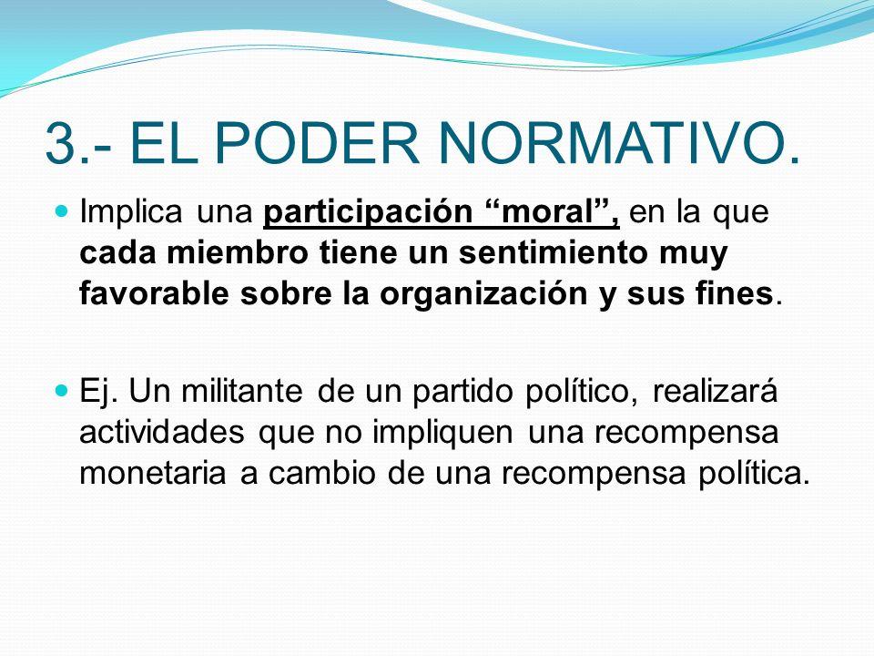 3.- EL PODER NORMATIVO.
