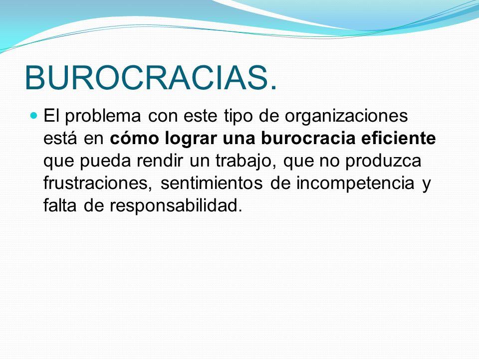 BUROCRACIAS.