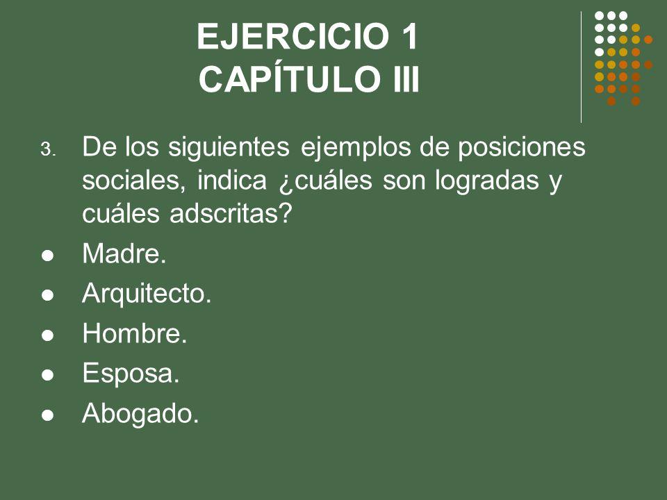 EJERCICIO 1 CAPÍTULO III