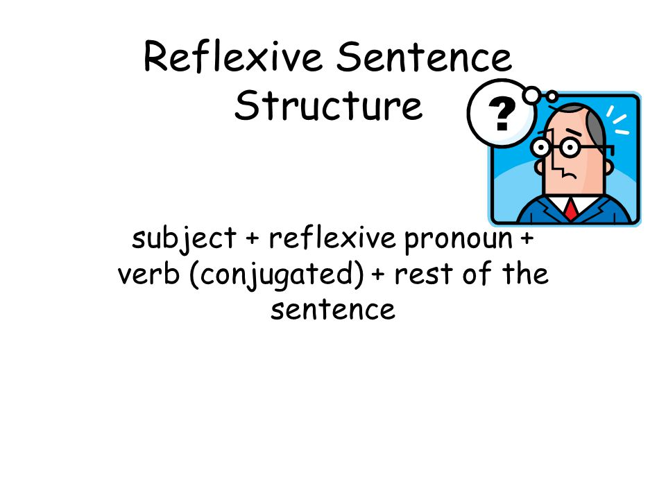 Reflexive Sentence Structure