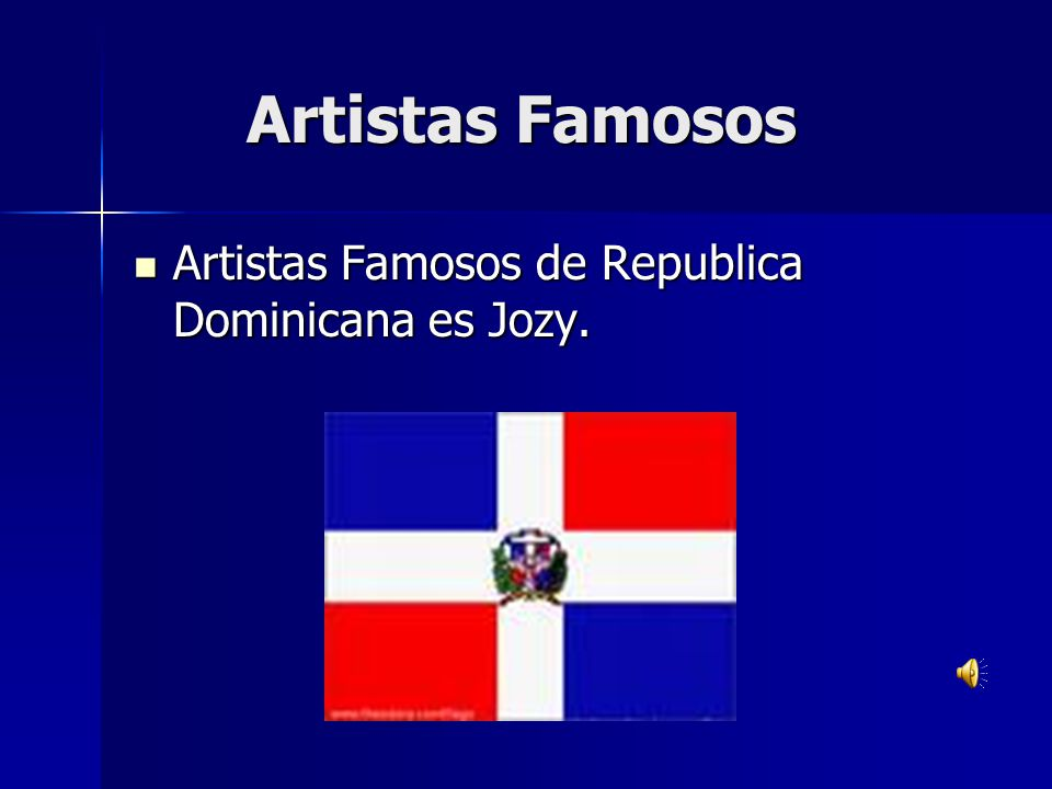 Artistas Famosos Artistas Famosos de Republica Dominicana es Jozy.
