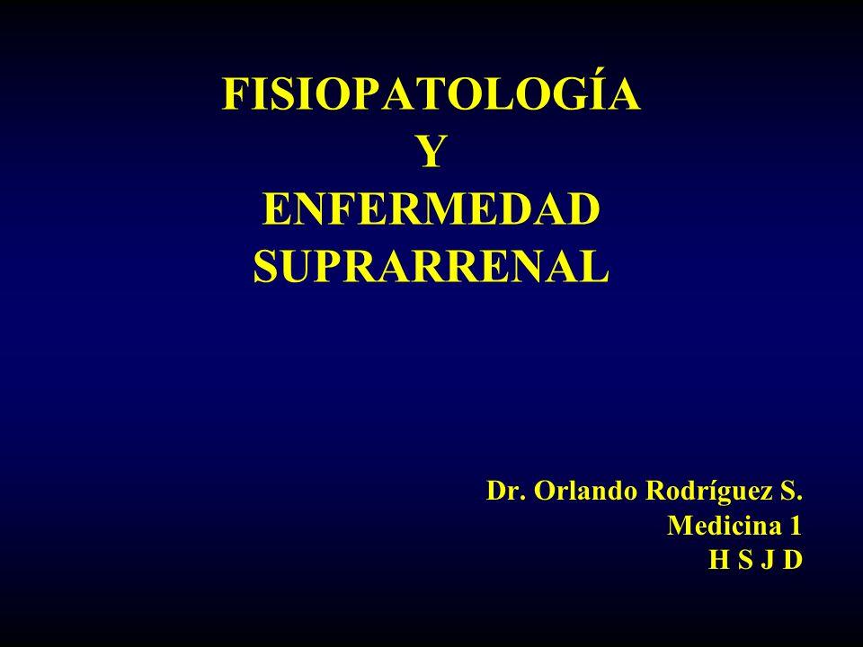 FISIOPATOLOGÍA Y ENFERMEDAD SUPRARRENAL