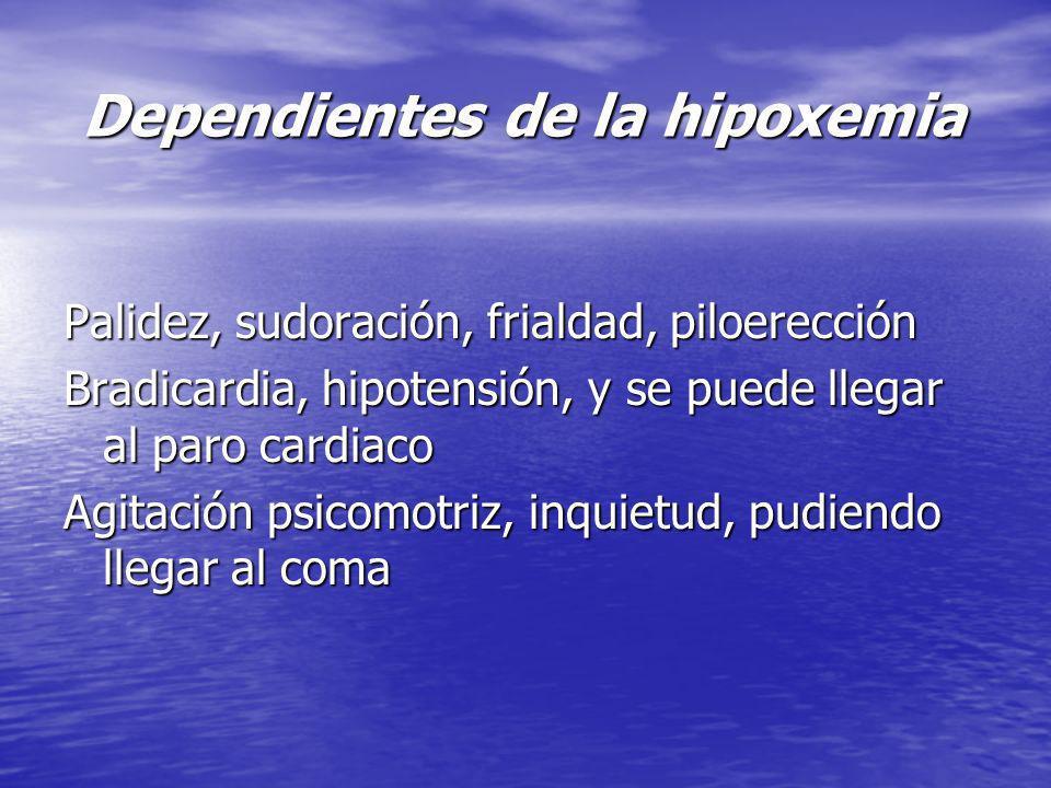 Dependientes de la hipoxemia