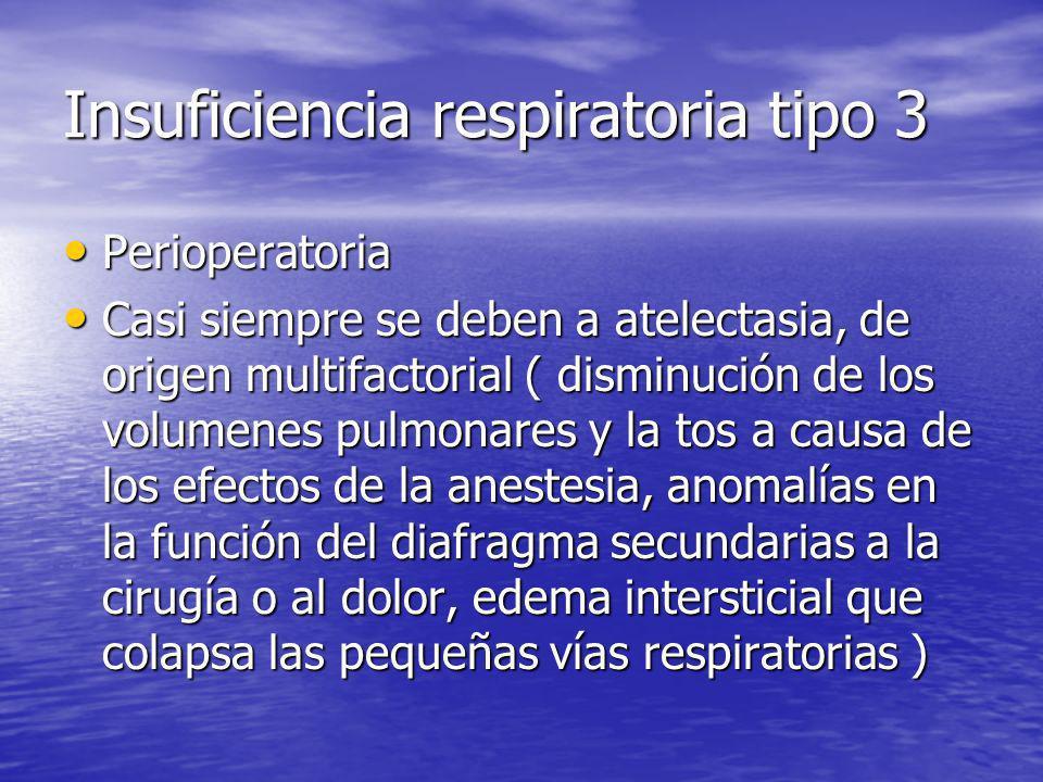 Insuficiencia respiratoria tipo 3