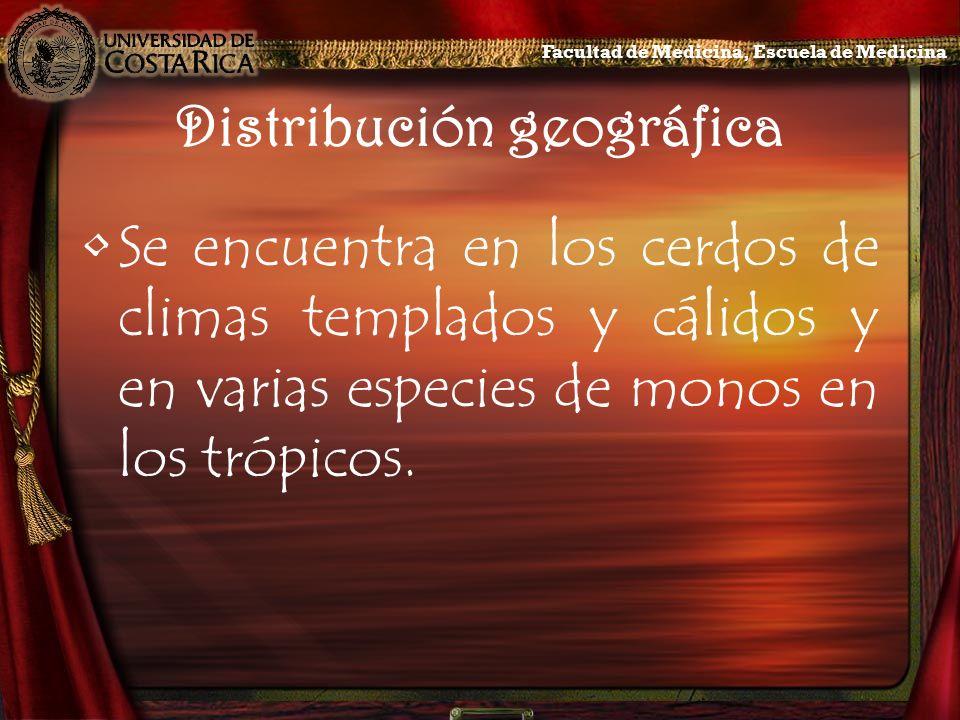 Distribución geográfica