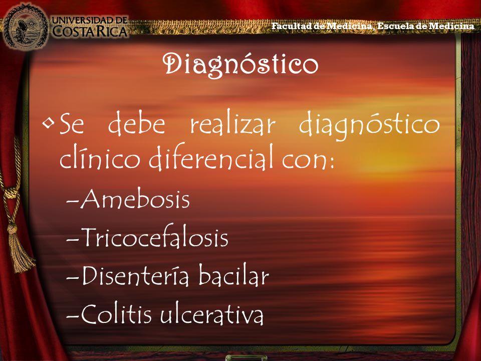 Se debe realizar diagnóstico clínico diferencial con: