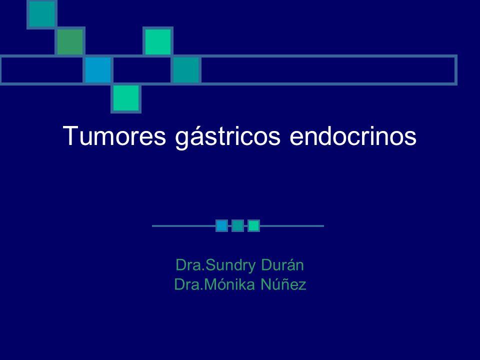 Tumores gástricos endocrinos