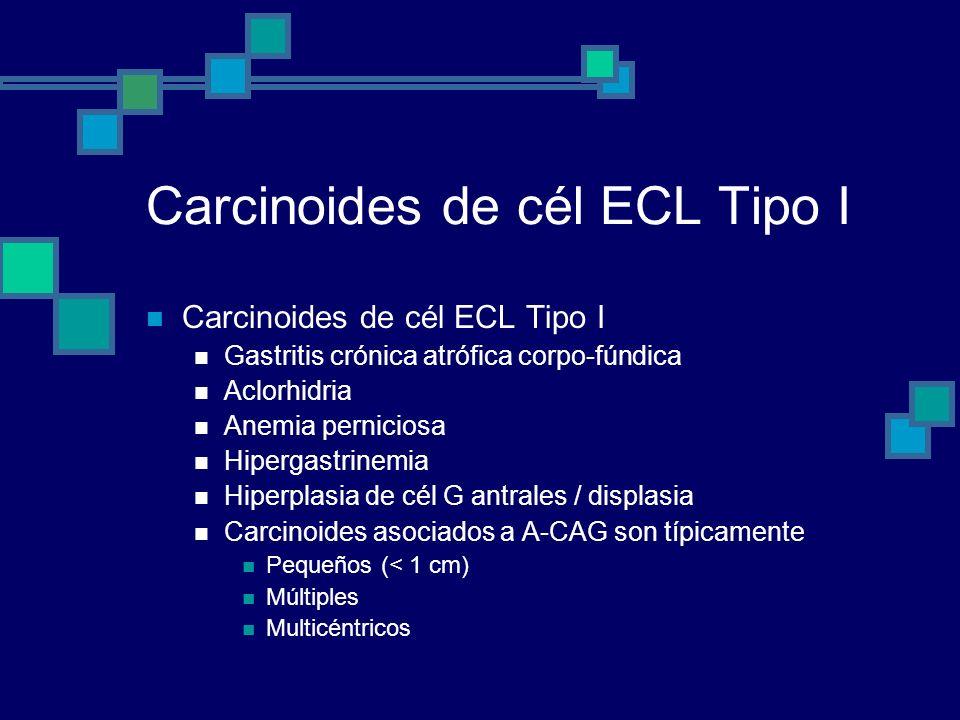 Carcinoides de cél ECL Tipo I