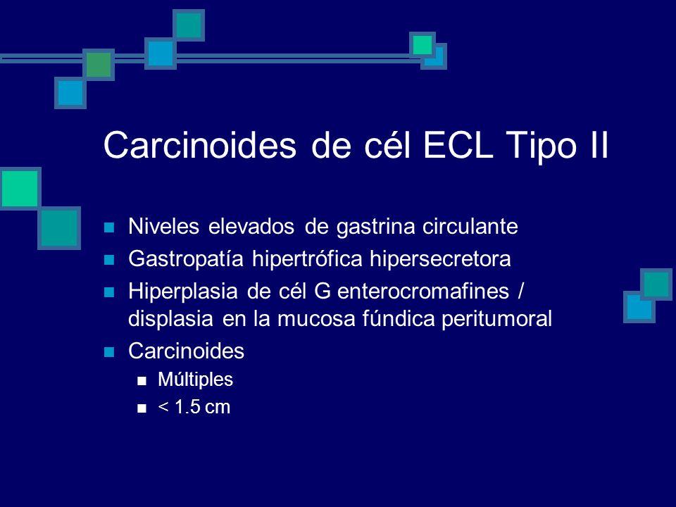 Carcinoides de cél ECL Tipo II