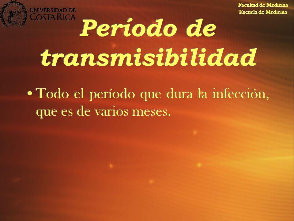 Período de transmisibilidad