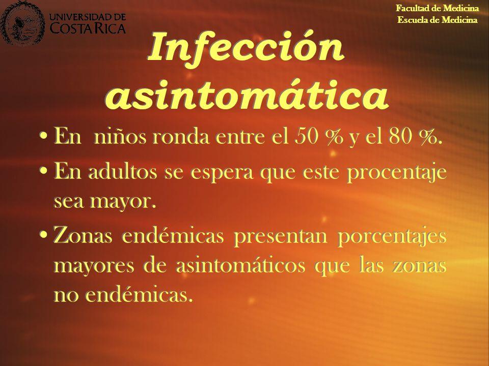 Infección asintomática