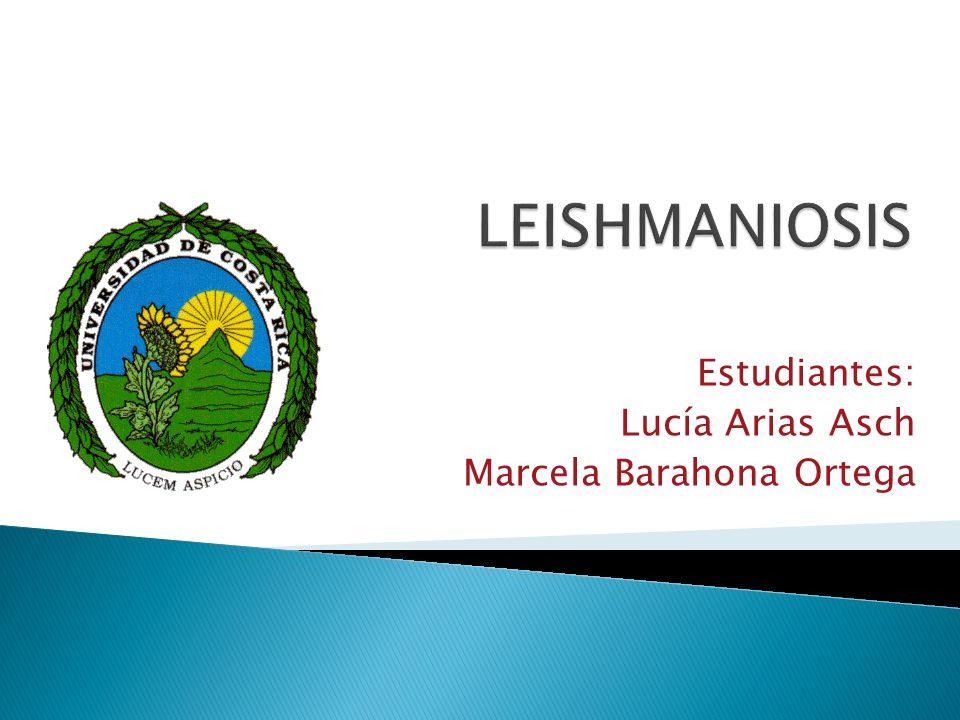 Estudiantes: Lucía Arias Asch Marcela Barahona Ortega
