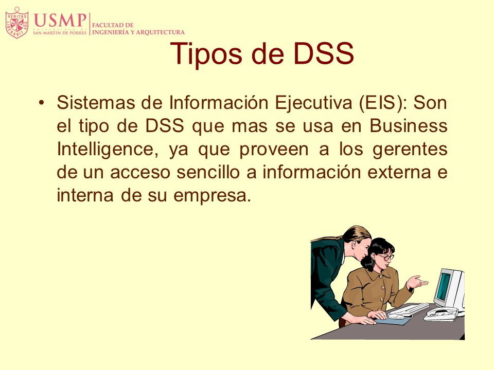 Tipos de DSS