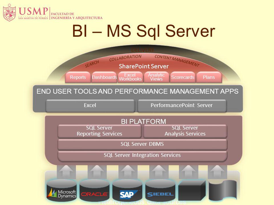 BI – MS Sql Server SharePoint Server
