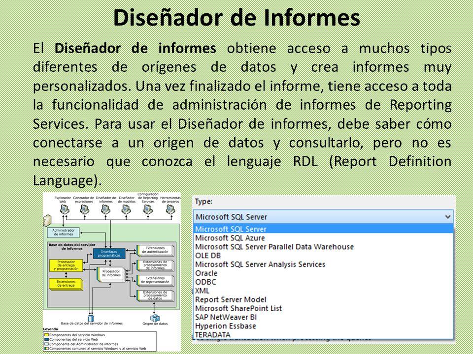 Diseñador de Informes