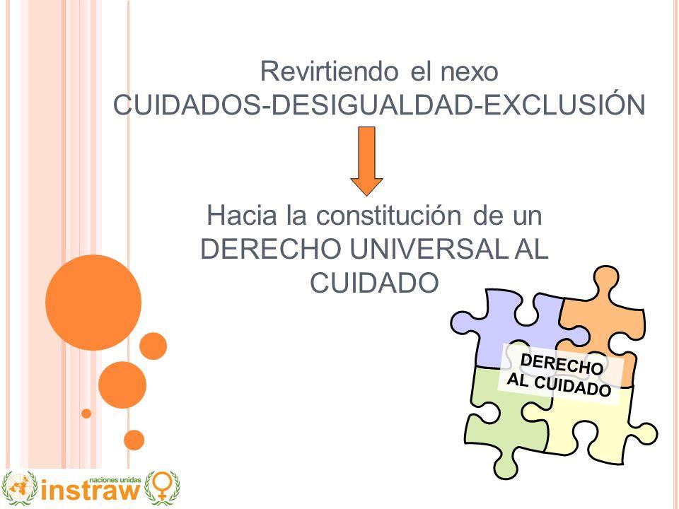 Revirtiendo el nexo CUIDADOS-DESIGUALDAD-EXCLUSIÓN