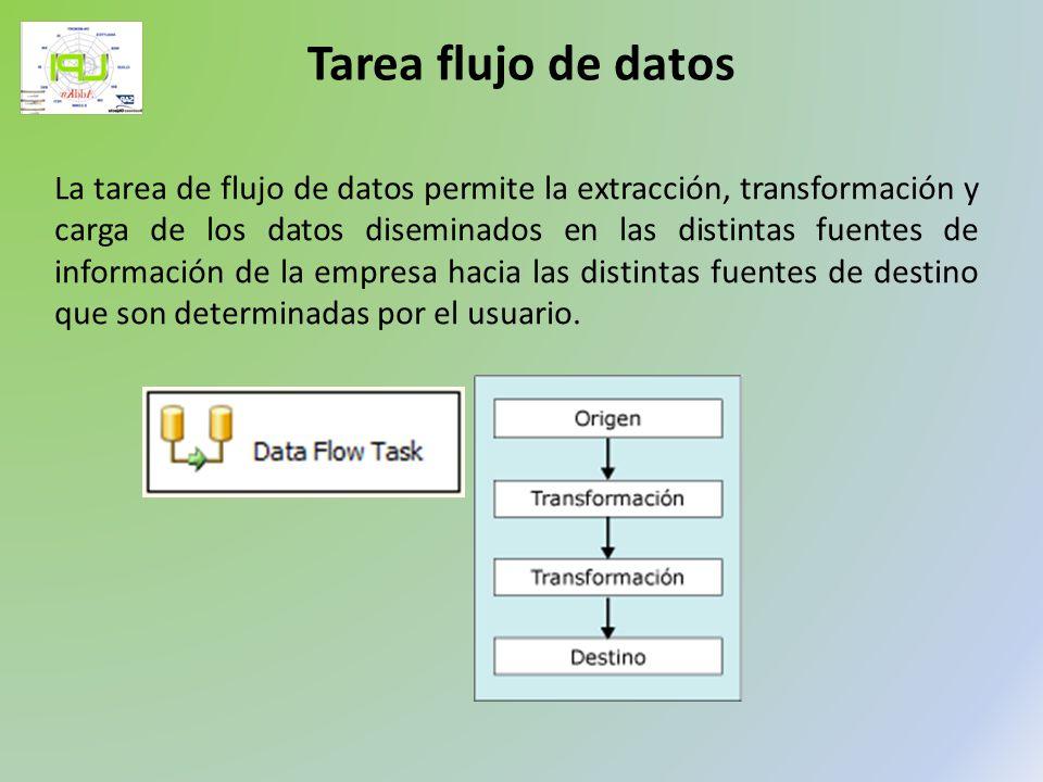 Tarea flujo de datos