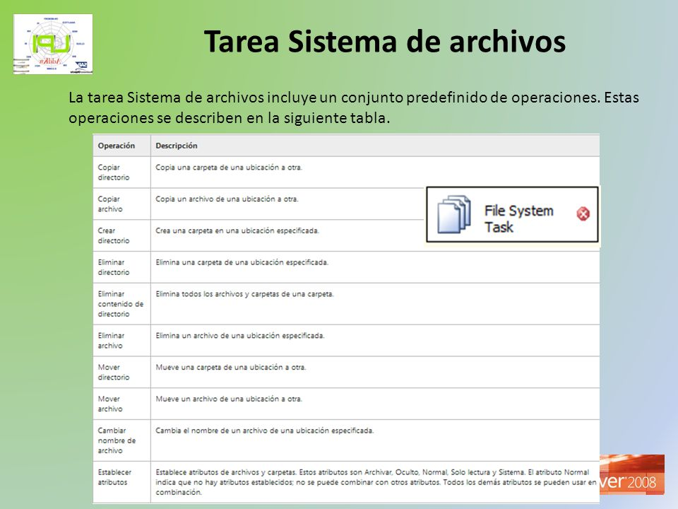 Tarea Sistema de archivos
