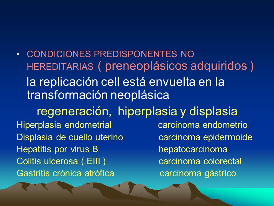 la replicación cell está envuelta en la transformación neoplásica
