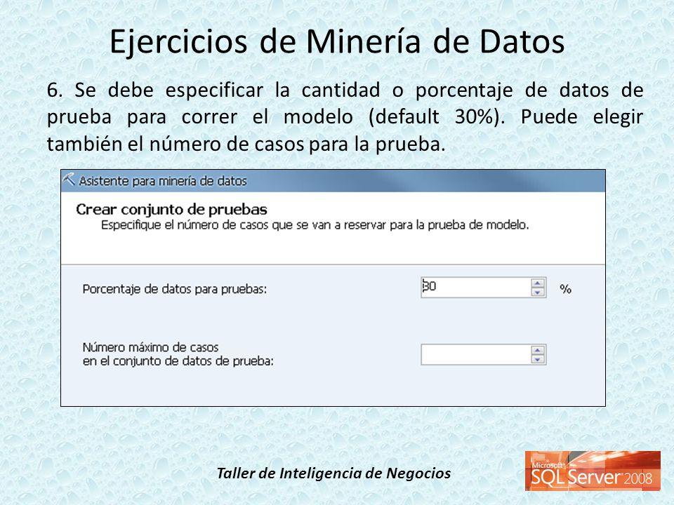 Ejercicios de Minería de Datos