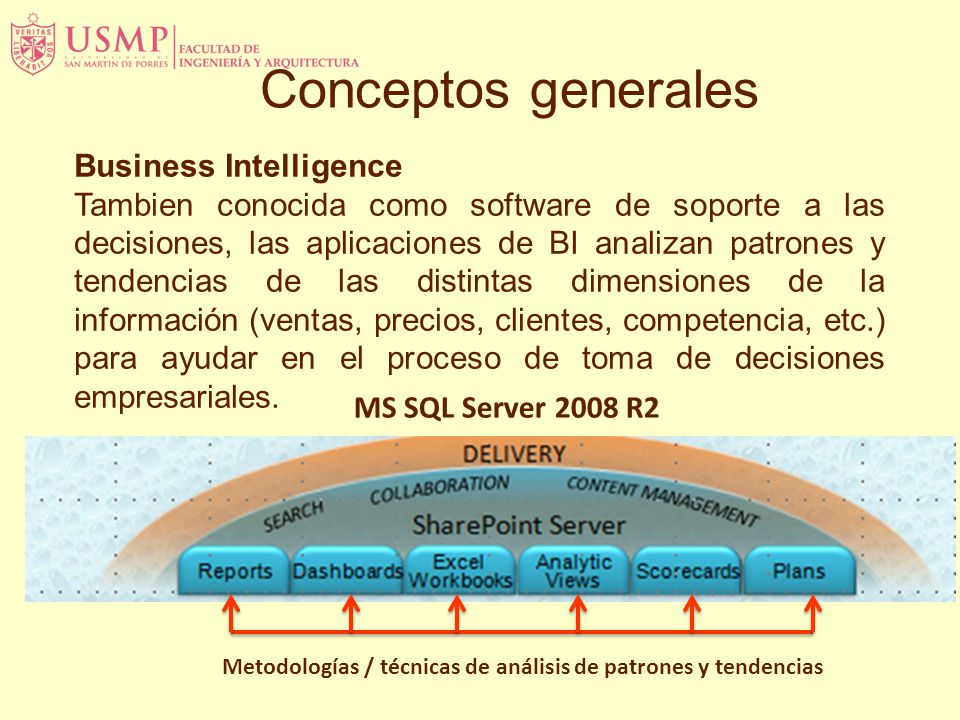Conceptos generales Business Intelligence