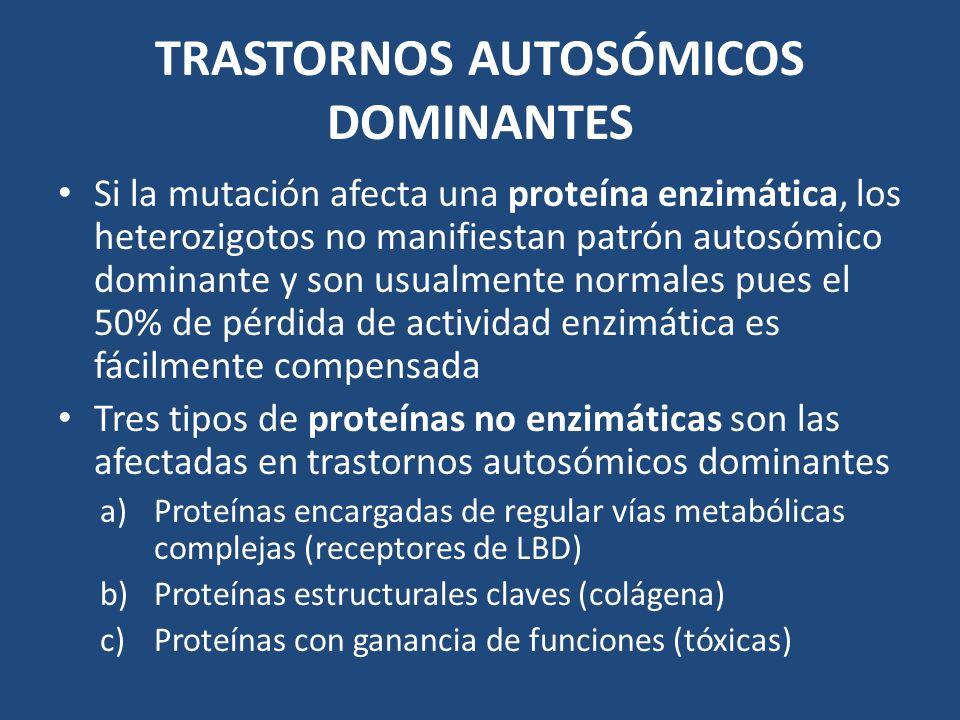 TRASTORNOS AUTOSÓMICOS DOMINANTES