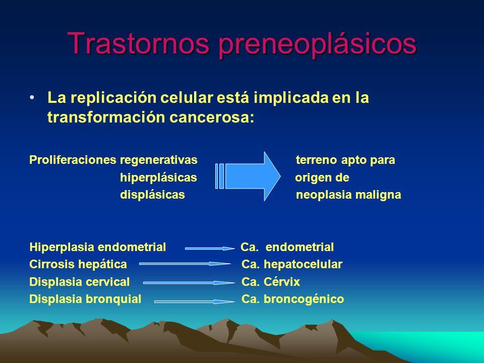 Trastornos preneoplásicos