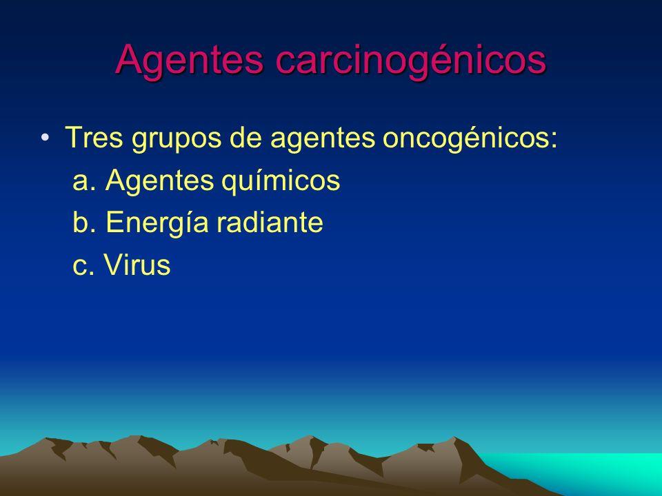 Agentes carcinogénicos