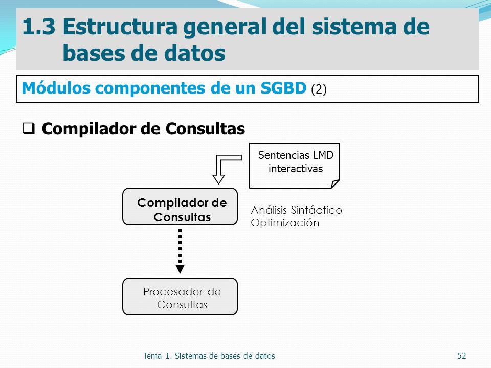 Compilador de Consultas