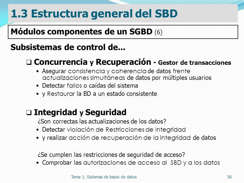 1.3 Estructura general del SBD